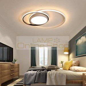 bedroom ceiling room LED lights lampe plafond avize modern LED ceiling lights lamp with remote control