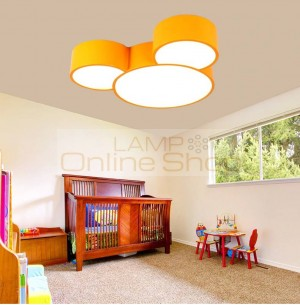 Kindergarten muliti-Color Led Ceiling Lamp fixtures Personality Children Boys And Girls Room surface Lamp led work reading light
