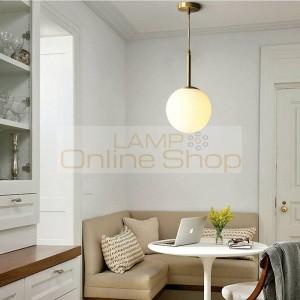 LED Hanging Lamp for Bedroom LED Lighting Living Room Home Decoration Copper Pendant Light Fixtures Dining Room