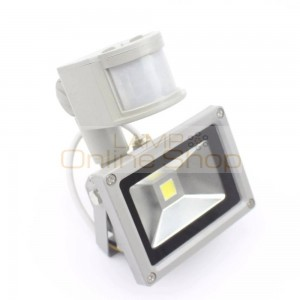 PIR 10W Sensitive sensor detective PIR LED flood light Kung AC110V 220V for warehouse for security Motion Sensor Time Lux adjust