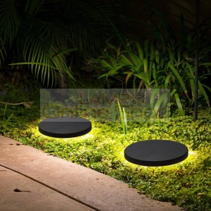 Round led Lawn Lamp Outdoor modern led Lawn Light Waterproof Courtyard garden Wall Lamp Landscape Lamp indoor Outdoor lighting